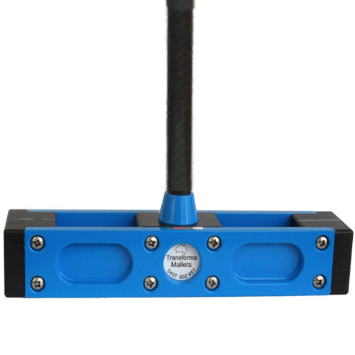 Blue Croquet Mallet Head