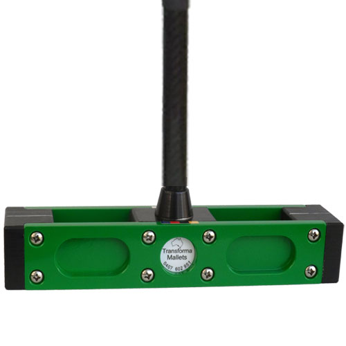 Green Croquet Mallet Head