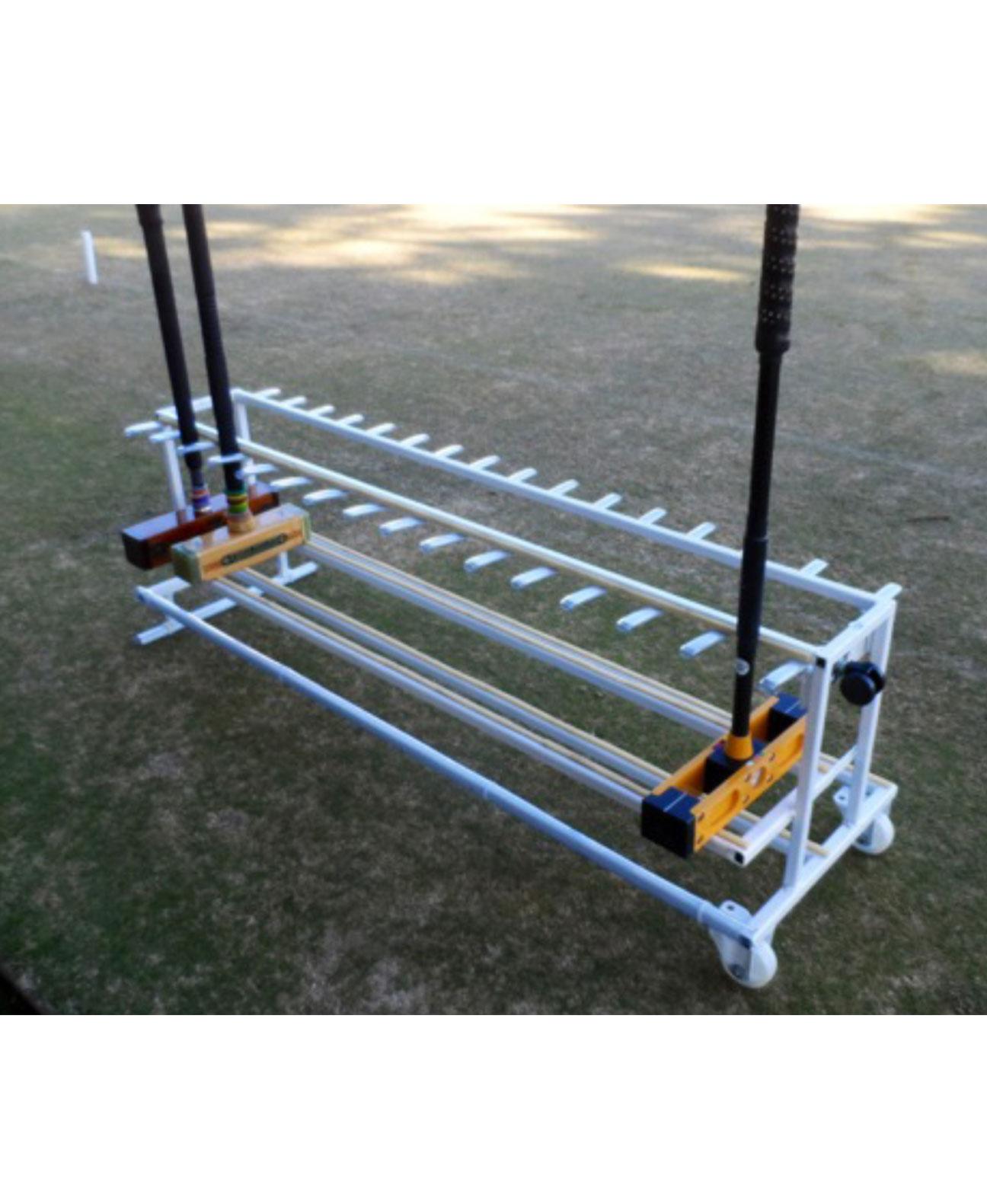 Croquet Mallet Rack